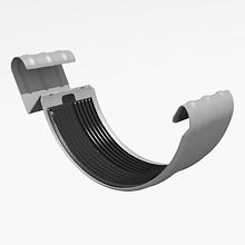 Соединитель желоба металлический RUNA 125/90мм З'єднувач ринви металевий RUNA Білий