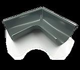 Угол желоба 125мм внутр/внешний RUNA металлический Кут ринви зовнішній/внутрішній RUNA 125мм металевий, фото 2