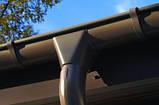 Держатель кронштейн желоба 125мм короткий RUNA металлический 1,2мм тримач ринви RUNA 125мм металевий кронштейн, фото 7
