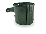 Держатель трубы 90мм RUNA металлический (под дюбель/саморез) хомут тримач труби RUNA 90мм металевий хомут, фото 2