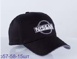 """Мужская бейсболка с авто логотипом """"Nissan"""""""