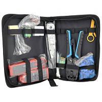 Набір інструментів для мережі 11 in 1, HT-806, HT-200R, KD-1, Stripper & other Merlion (A135)