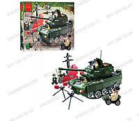 """Подарки Развивающие игрушки Конструктор Tanks Brick 823 серия """"Зона боевых действий"""" кто любит военную технику"""