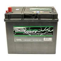 Аккумулятор автомобильный GIGAWATT 45А (0185754557)