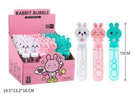 Мильні бульбашки 35 мл  кролик 6003