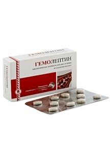 Гемолептин, таблетки, 50 шт