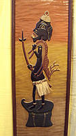 Картина деревянная Маори