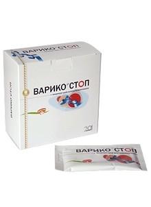 Концентрат сухой безалкогольный Варико-cтоп, 20 пакетов по 10 г