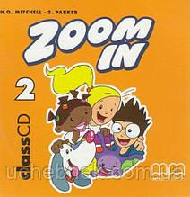 Диск Англійська мова 2 клас Zoom in Special 2 Class CD Mitchell H.Q. MM Publications