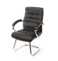 Крісло конференційне АКЛАС Каміль CH CF Коричневе, фото 1