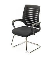 Крісло конференційне АКЛАС Фіджі CH CF Чорне, фото 1