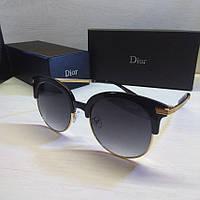 Жіночі сонцезахисні окуляри Dior круглі, фото 1