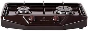 Плита настільна газова 2к Greta 1103 коричнева
