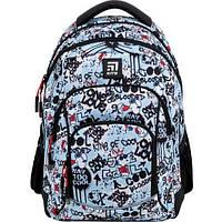 Рюкзак шкільний для дівчинки Kite Education Peanuts Snoopy SN21-814M 40*30*15 см, фото 1