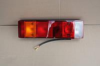 Ліхтар задній універсальний з трикутником кабель знизу лівий