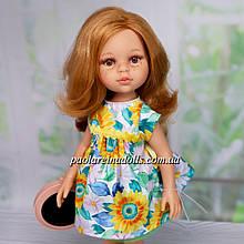 Лялька Паола Рейна Даша 04451 у сукні з соняшниками Paola Reіna