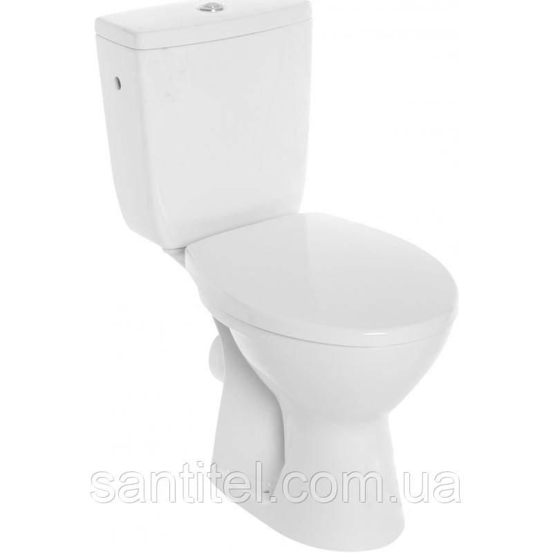 Компакт Cersanit 446 CLASSIK 010 3/6 с сиденьем полипропилен