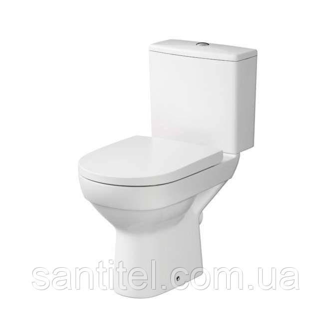 Компакт Cersanit 601 CITY NEW CLEAN ON 010 3/5 з сидінням дюропластів ліфт