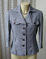 Пиджак женский жакет легкий с укороченным рукавом р.46 4708