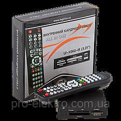 Кардридер внутренний LF-X06D-IR + пульт для управления ПК