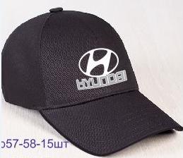 "Мужская бейсболка с авто логотипом ""Hyundai"""