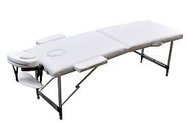 Масажний стіл ZENET двосекційний 1044 ZET - WHITE розмір S ( 180*60*61)