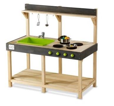 Игровая кухня деревянная Exit Toys Yummy 100