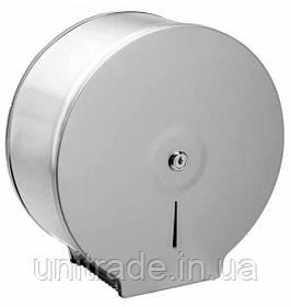 Металевий диспенсер для туалетного паперу джамбо