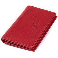Візитниця-книжка ST Leather 19214 Червона, фото 1
