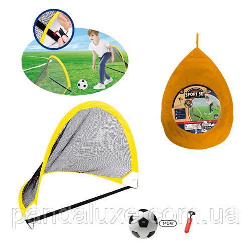 Футбольні ворота MR 0397-2 80*60*60 см