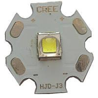 Светодиод усиленной яркости CREE L2: d 20, мощный свет, свыше 40000 часов работы
