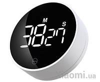 Электронный таймер Xiaomi MIIIW rotating timer (NK5260) White