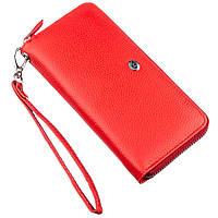 Женский клатч на молнии ST Leather 18931 Красный, фото 1