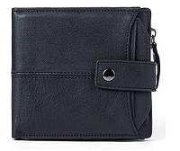 Кошелек мужской функциональный Vintage 14688 Черный, фото 1