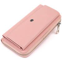 Кошелек пастельный женский ST Leather 19297 Розовый, фото 1