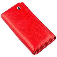Яркий кошелек для женщин с визитницей ST Leather 18882 Красный, фото 1