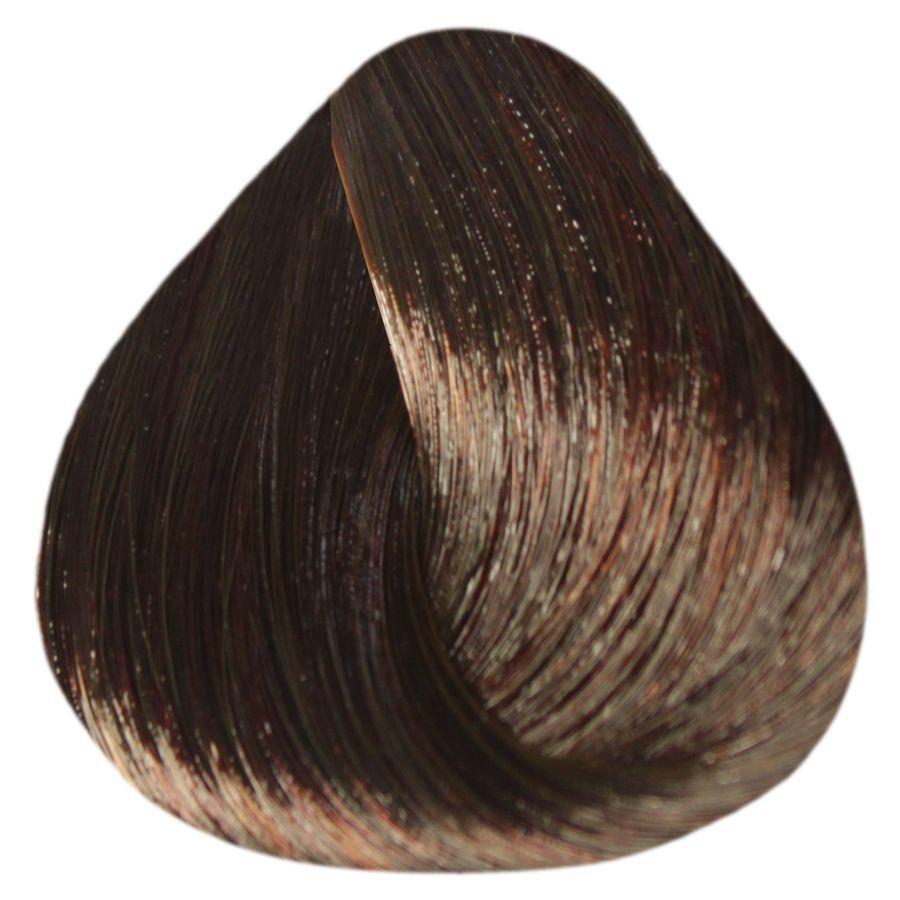 """5/75 """"светлый шатен коричнево-красный"""" Крем-краска для волос ESTEL De Luxe 60 мл."""