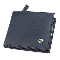 Мужской кошелек ST Leather 18342 (ST154) на молнии Синий, фото 1