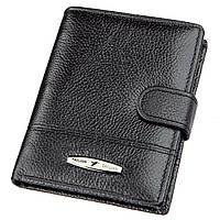 Кошелек вертикальный мужской кожаный TAILIAN 19000 Черный, фото 1