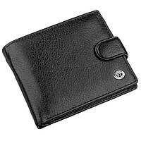 Мужской универсальный кошелек ST Leather 18836 Черный, фото 1