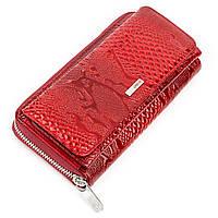 Кошелек женский KARYA 17177 кожаный Красный, Красный, фото 1