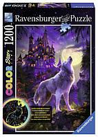 Пазл Светящийся Волк и луна Ravensburger 16186