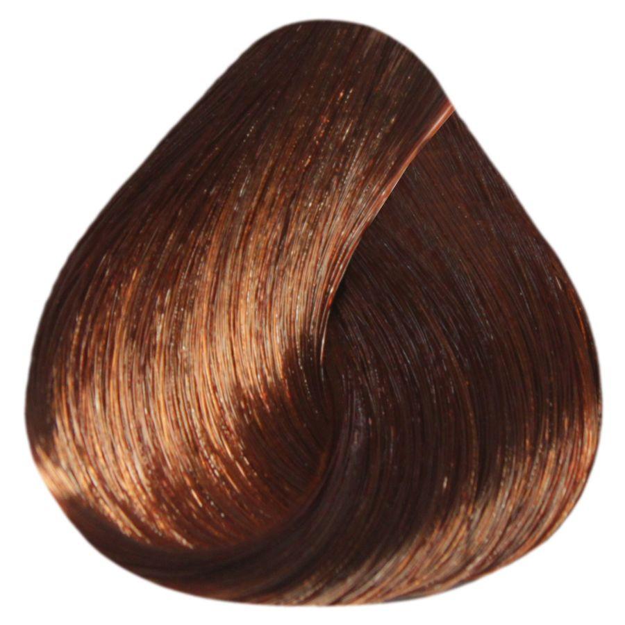 """6/40 """"темный русый медный для седины"""" Крем-краска для волос ESTEL De Luxe 60 мл."""