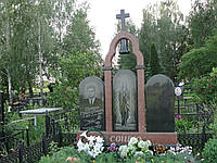 Памятник на двоих № 3219, фото 1