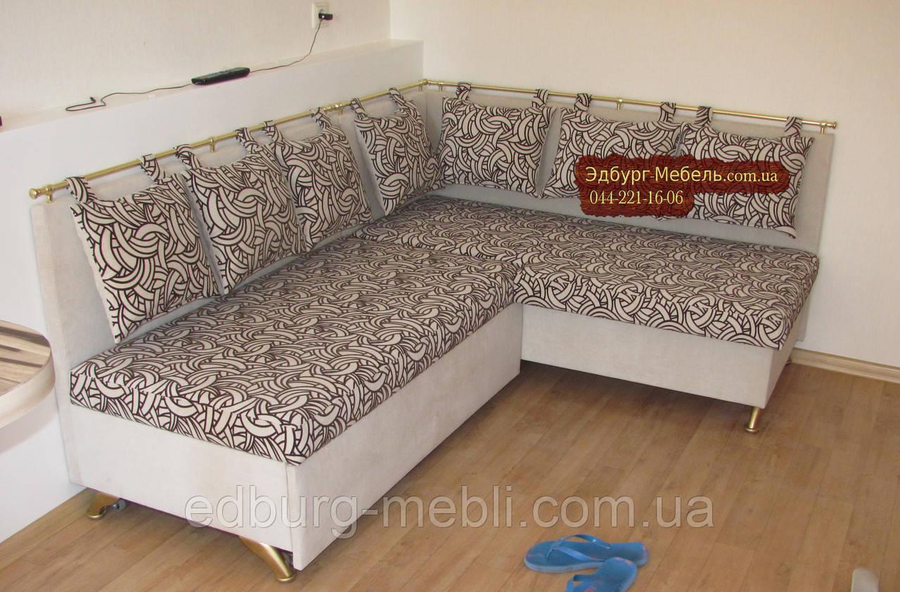 Кухонный уголок со спальным местом Велюр антикоготь
