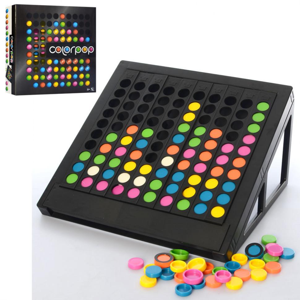 Детская настольная логическая игра 175CT Цветарики
