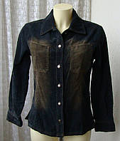 Пиджак женский рубашка вельвет хлопок бренд Best Connections р.44-46 4725