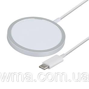 Беспроводное Зарядное Устройство MagSafe USB-C Iphone 12 15w Цвет Белый
