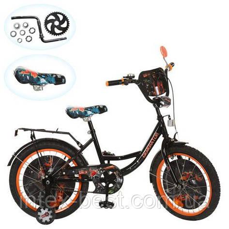 Детский велосипед 18д GR 0004 Generator Rex, черно-оранжевый, фото 2