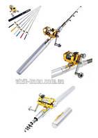 Карманная удочка в виде ручки Fishing Rod R187068 длина 0,9м толщина 1,5см. вес пойман рыбы до 2кг. (7095)